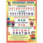 Плакат Русский дизайн Согласные звуки 490x690